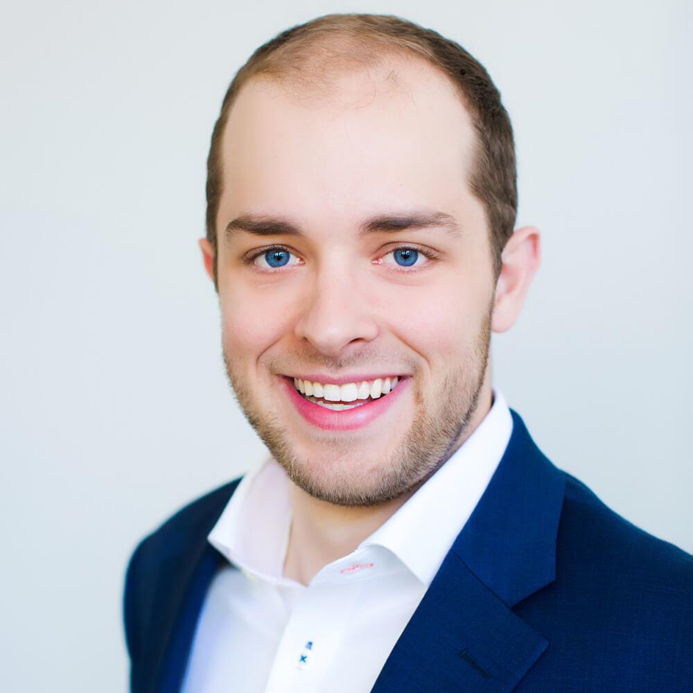 Headshot Photo of Samuel Hauser - Attorney at Morgenstern DeVoesick PLLC